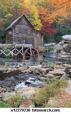 I love old water mills
