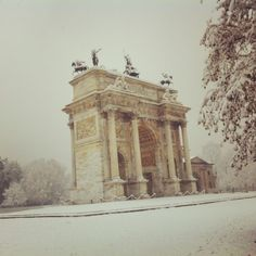 #Milan #Italy Arco della Pace