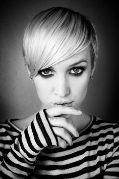 Ashlee Simpson. I love her with this haircut