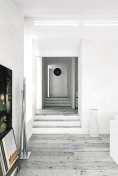 Living Room Decor And Design Ideas - Top Style Decor Home Interior Design, Interior Architecture, Interior And Exterior, Interior Decorating, Decorating Ideas, Grey Flooring, Wooden Flooring, Plank Flooring, Wood Planks