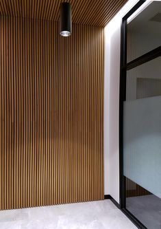 Timber Acoustic Panels by Glosswood are ideal for offices, restaurants & commerc. - Timber Acoustic Panels by Glosswood are ideal for offices, restaurants & commercial fitouts - Timber Wall Panels, Timber Walls, Timber Panelling, Timber Cladding, Timber Wood, Interior Walls, Interior Design, Van Interior, Interior Architecture