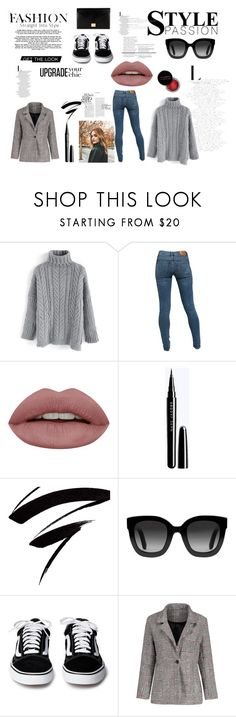 """autumn outfit"" by denka10 ❤ liked on Polyvore featuring Chicwish, Levi's, Concrete Minerals, Gucci and Victoria Beckham"