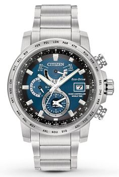 AT9070-51L, AT907051L, Citizen world time a t watch, mens