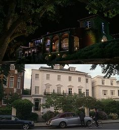 Parent Trap movie- I loved the house in London, the one that belonged to Elizabeth and Annie James <3 The other Napa house was okay, I'm definitely more of a wedding dress designer lifestyle kind of girl