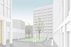 Cité de Sécurité Sociale – Luxemburg City LU – MLA+ Architecture – Planning – Consultancy