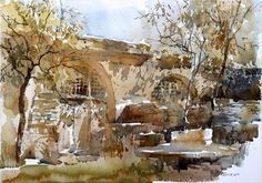 Chen Shanxi watercolor painting