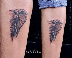The meaning of an elephant tattoo conveys compassion, truth, peace, love and kindness. Ganesha, a well-known Hindu deity has the head of an elephant.  Tattoo done by Satyakam Tripathi  at Skin Machine Tattoo Studio   Your views , comments and shares would be appreciated !  Follow - Skin Machine Tattoo Studio