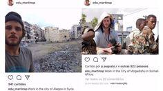 Cómo se derrumbó la historia de un falso fotógrafo de la ONU que engañó a periodistas, mujeres y miles de seguidores en Instagram. Imágenes del Instagram de Eduardo Martins