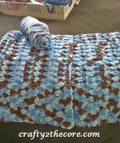 ~Crochet Shell Blanket~FREE PATTERN-
