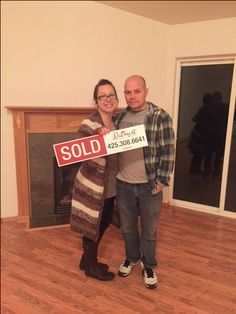 Congratulations to Christina & Adam on buying your FIRST home!! It even has space for your home business. We are so happy to be able to help you find your dream home. :)