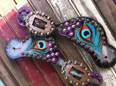 I need the peacock Tin Haul boots and these straps to go with them!!!!!