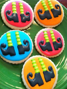 Witch feet cookies by Heidissweetshoppe on Etsy