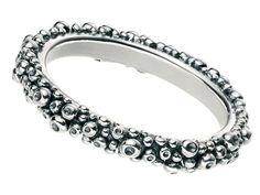Silver Ring - Bobbly