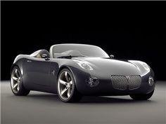 Pontiac Solstice Convertible Concept Car, 2002