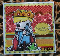 The Little King! Pixie Dust Studio digital stamp!<3