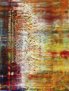 Gerhard Richter, Tableau abstrait,  1990. Catalogue Raisonné: 750-1. http://www.gerhard-richter.com/art/paintings/abstracts/detail.php?paintid=7852#