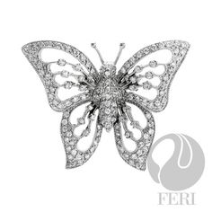 - 925 fine - micron natural - Set with AAA white cubic Jewelry Design, Designer Jewelry, Butterfly Pendant, Beautiful Butterflies, Sterling Silver Pendants, Jewelry Sets, Brooch, Jewels, Gemstones
