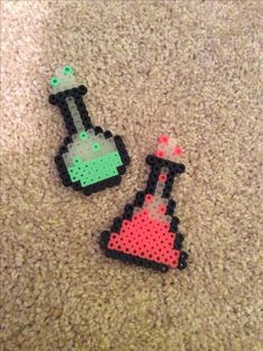 Perler bead potions
