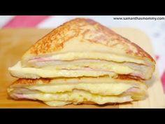 How to make Monte Cristo sandwich Recipe - YouTube