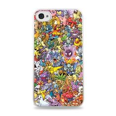 636 Pokemon Collage Apple iPhone 5C Hardshell Case - White. Jazz up your phone with this awesome made-to-order case!. Made from durable materials. Cases are lightweight, flush fitting and have easy access to all ports and buttons. Camera holes are fitted with a custom ring to prevent flash problems in photos. Images are printed from high resolution files for sharp results. Will not fade over time. Protects your device from nicks and scratches without adding any bulk. Fast and free US...