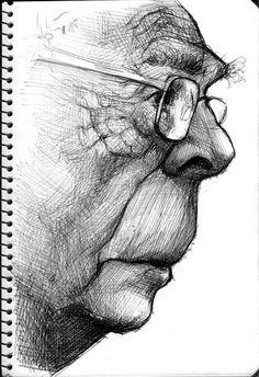 Jose Saramago by Parpa