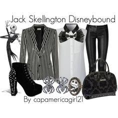Jack Skellington Disneybound by capamericagirl21 on Polyvore