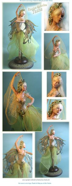 ONE OF A KIND FANTASY RUSSIAN BALLERINA LADY FAIRY OOAK BY PATRICIA ROSE PRFAG | eBay
