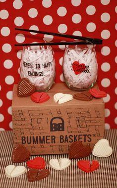 bummerbaskets — Valentine's Day Gift. Break-up basket, anti-valentine's day gift