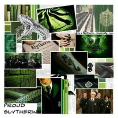 """""""Slytherin"""" by verified-fangirl-1 ❤ liked on Polyvore featuring art"""
