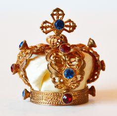 Antique French Ormolu Crown
