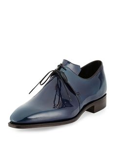 Corthay  Arca Patent Leather Shoe,  $1,900.00