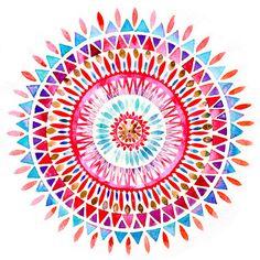 Plan Pintar y dibujar en verano,crear mi coleccion de cosas bonitas:esta es practica de elementos geométricos y del pulso.1Dibujar los circulos concentricos y luego lo demás,los elementos geométricos directamente a pulso con el pincel.