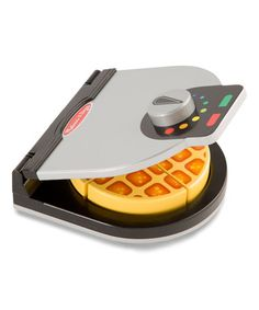 Loving this Melissa & Doug Press & Serve Waffle Toy Set on #zulily! #zulilyfinds