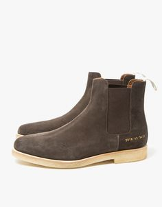 Chelsea Boot Suede in Brown
