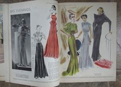 Early Spring 1936 Butterick Fashion Pattern Book 64pgs 1930s Magazine sld 72.89+7 4bds 2/3/17