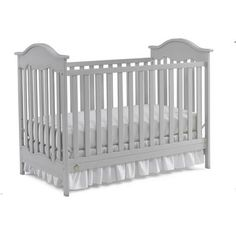 Fisher-Price Charlotte 3-in-1 Fixed-Side Convertible Crib, Choose Your Finish - Walmart.com
