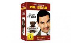 [Angebot]  Mr. Bean  Die komplette TV-Serie (Limited Edition inklusive Strick-Teddy 3 Discs) für 1197