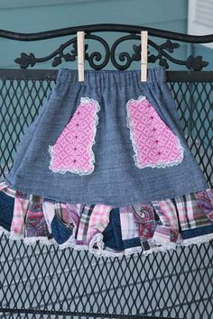 Skirt (Patched-Up Girl)