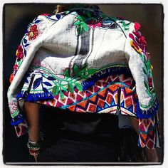 The print blazer