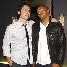 Zach Braff and Donald Faison (the best bromance ever)