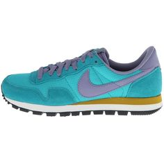 Womens Shoes Nike Air Pegasus '83 Turbo Green/Dark Citron/Anthracite/Iron Purple