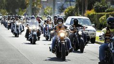 bandios.com | Bandidos bikies on their national run. Source: The Courier-Mail