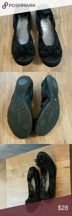 Preen Satin Ballet Flats Black Ballet Flats Size 41 Preen Shoes Flats & Loafers