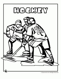 Olympic Coloring Pages Olympic Hockey Coloring Page – Classroom Jr. Train Coloring Pages, Coloring Pages Winter, Sports Coloring Pages, Printable Coloring Pages, Coloring Sheets, Olympic Hockey, Olympic Sports, Olympic Games, Summer Olympics Sports
