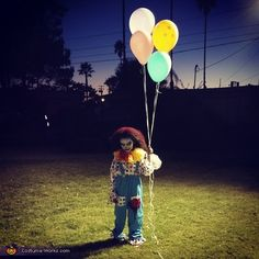 Scary Clown - Halloween Costume Contest via @costume_works