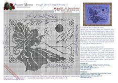 Points de croix *♥* Cross stitch monochrome