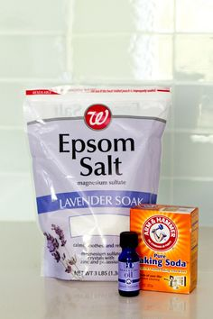 Home Pedicure - DIY Pedicures - Epsom Salt Lavender And Baking Soda Pedicure Soak, Pedicure At Home, Pedicure Ideas, Home Pedicures, Pedicure Products, Pedicure Party, How To Do Pedicure, Pedicure Colors, Diy Beauté