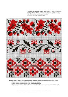 Ukrainian traditional embroidery from Volyn