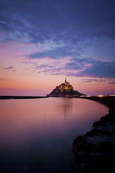 Le Mont-Saint-Michel it looks like tangled!