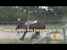 How to stop a horse from bucking